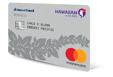 Apply for the Hawaiian Airlines® Business MasterCard®