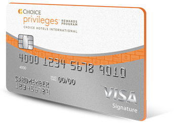 Choice Privileges(Registered Trademark) Visa Signature(Registered Trademark) Card