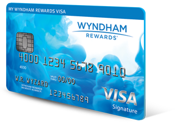 Image of the Wyndham Rewards Visa Card