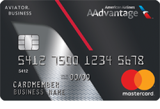 AAdvantage Aviator Business Mastercard card