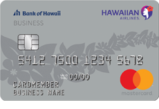 Hawaiian Airlines(Registered Trademark) Business Mastercard(Registered Trademark)