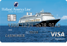 Image of the Holland America Line Rewards Visa Card