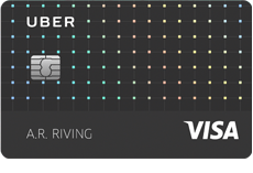 Image of the Uber Visa Card