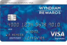 Wyndham Rewards(Registered Trademark) Visa(Registered Trademark) Card