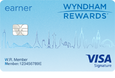 Wyndham Rewards (Registered Trademark) Earner (Service Mark) Card