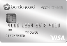 Image of the Barclaycard Visa with Apple Rewards