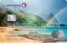 Image of the Hawaiian Airlines® World Elite Mastercard® card