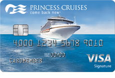 Image of the Princess Cruises Rewards Visa Card