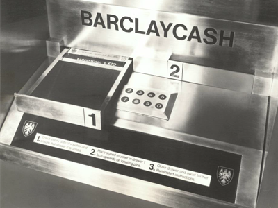 Barclays introduces the world's first ATM