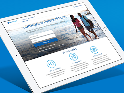 Barclaycard launches a personal loan product online in the U.S.